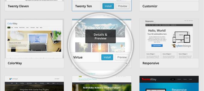 creazione-siti-web-scelta-del-template-wordpress-free